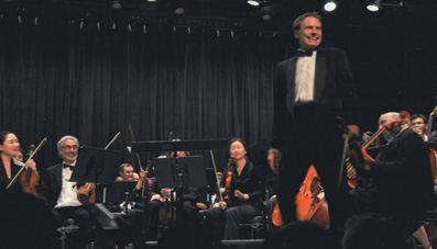 Jim Graseck with UN Symphony Orchestra