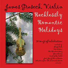 """Recklessly Romantic Holidays"" cover"